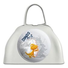 Dinosaurs from A to Z Dinosaur Train Cowbell Cow Bell Instrument