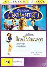 Disney ENCHANTED / ICE PRINCESS New 2 Dvd AMY ADAMS KIM CATTRALL ***