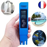 TDS CE Mètre Température Testeur stylo 3 In1 Aquarium Testeur Mesure Qualité Eau