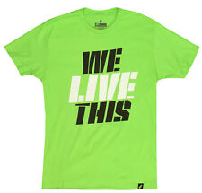 MusclePharm MP We Live This T-Shirt (Green)