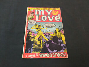 My Love #14 - Marvel Comics - Woodstock Cover - Romance - LOW Price  VG-