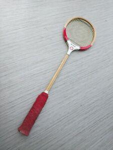 Vintage Grays Of Cambridge Red Devil Squash Racket