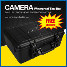 Waterproof Protective Equipment Foto Case Hard Carry Box Camera Bag with Foam