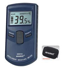 MD919 Digital Inductive Paper Moisture Meter Tester 4%-40%RH