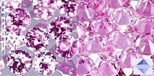 VVS ! ZAFFIRI NATURALE di SRI LANKA - 10pz brillanti 1,8mm rosa teneri - AAA++
