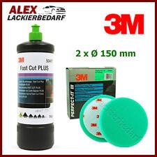 3M 50417 Perfect-it III Schleifpaste PLUS 1 kg + 2x 3M 50487 Polierschwamm 150mm
