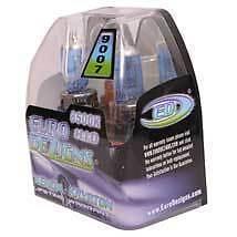 EuroDezigns Cool Blue 9007 Bi Xenon HID Look HIGH/LOW Beam Headlight Bulb 55/65w