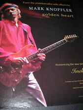 MARK KNOPFLER 1996 Promo Poster Ad for IMELDA mint cond