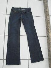 Banana Republic Petite SZ OOP Navy Blue 28/28 womens pants jeans flare stretch