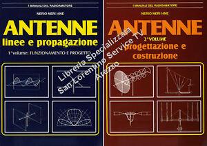 COSTRUZIONE ANTENNE VERTICALI ORIZZONTALI NERIO NERI LIBRO PROGETTARE COSTRUIRE