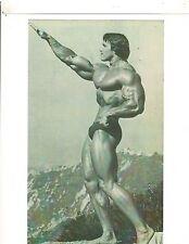 bodybuilder Arnold Schwarzenegger Archer Pose Bodybuilding Photo B&W