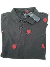 mens hollister polo shirt medium