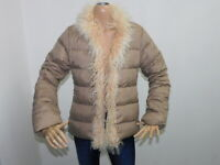 Piumino Moncler Donna Taglia Size 1 jacket Woman Veste Femme Piuma Beige 9141