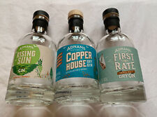 3 Empty Adnams Gin Bottles - Upcycling/Craft/Weddings/Lamps - 20cl