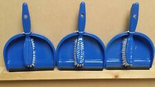 More details for dust pans and brush sets pack of 3 bulk purchase bargain price new in stock