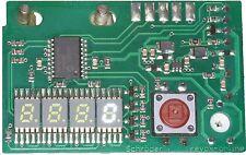 Zähler weiß 5,08mm, mit Nullunterdrückung 5,1 mm, Revox A77, B77, PR99