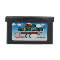 Super Mario World Super Mario Advance 2 GBA Game Boy Advance Game