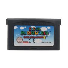 Super Mario World Super Mario Advance 2 GBA Game Boy Advance Game