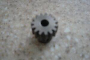 15 Tooth 1/4 inch bore Spur gear, Pinion gear