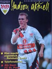 Programm 1995/96 VfB Stuttgart - FC St. Pauli