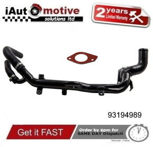 FOR SAAB, VAUXHALL & OPEL 1.9 TID, CDTI 8V Z19DT FRONT WATER PIPE, 93194989
