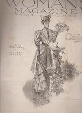 Woman's Magazine October 1905 Fancywork Fashion