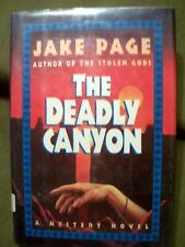 The Deadly Canyon by Jake Page (1994, Hardcover) Mystery