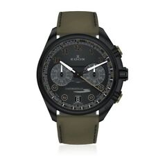 EDOX Chronorally Chronograph Black Dial Men's 43mm Watch 09503 37NNVCV NNV