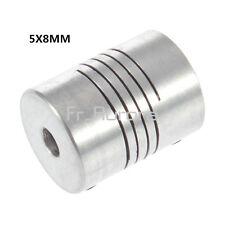 5x8mm CNC Motor 3D Printer Jaw Shaft Coupler 5mm-8mm Flexible Coupling