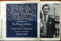 The Royal Wedding Prince Charles Lady Diana Spencer British Post Office Stamps