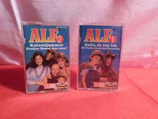 2 x Alf MC / Kassette / Folge 1 und Folge 2 / 1988 / Karusell / Dolby System