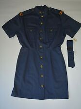 New Ralph Lauren Country Collection Women's Size 12 Rare Vintage Blue Dress $245