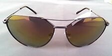 Guess GF0161 6108 women's Gunmetal Frame Black Mirrored Lens Sunglasses