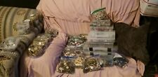 Huge Mixed Bead & Jewelry Lot, see all photos, containers included.