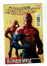 Amazing Spider-Man #7, VF/NM 9.0, 1 for 15 Choo Variant; Spider-Verse
