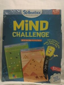Skillmatics Educational Game: Mind Challenge (6-99 Years) Erasable and Reuseabe