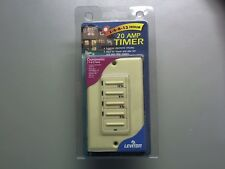 Leviton 6212H-I  2, 4, 8, or 12 Hour Countdown Timer Ivory New