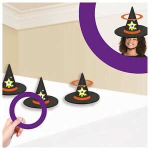 Halloween Witch Hat Ring Toss Game Halloween Activity Family Fun