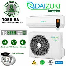 36000 BTU Air Conditioner Mini Split 16 SEER INVERTER AC Ductless Heat Pump 220V