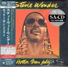 STEVIE WONDER HOTTER THAN JULY JAPAN SACD SHM UIGY 9075 OBI