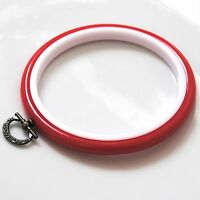 Embroidery Hoop / Flexi Hoop 4 inch - Choose the Colour - Sewing - FREE UK P&P
