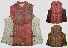 10Pc Wholesale Lot Vintage Kantha Jacket Handmade Silk Kid Coat Indian Blazer
