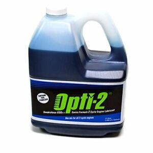 Opti-2 Opti One Gallon Bottle 2 Cycle Engine Oil Mix Enviro Formula 20044