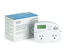 NETRESET Digital Timer Outlet Automatic Modem And Router Rebooter