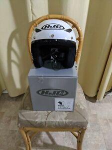 HJC CS-5N Helmet White Size Medium 57-58 CM  DOT