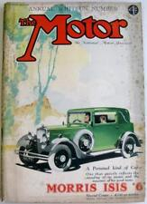 The MOTOR 23 May 1933 Original Motoring Car Magazine