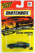 Matchbox MB 59 Aston Martin DB-7 New On Card 1994