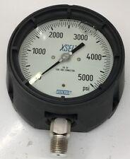 "50492985 WIKA Pressure gauge; 233.34 4.5 5000PSI 1/2 LSG; 1/2"" NPT lower mount;"