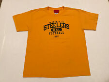 Reebok pittsburgh steelers property of youth t-shirt large