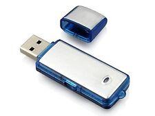 USB FLASH DRIVE PENDRIVE AUDIO VOICE RECORDER 4GB